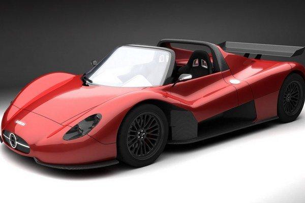 Roadster Ermini Seiottosei. Obnovená talianska firma Ermini predstaví svoje prvé športové vozidlo na autosalóne v Ženeve.