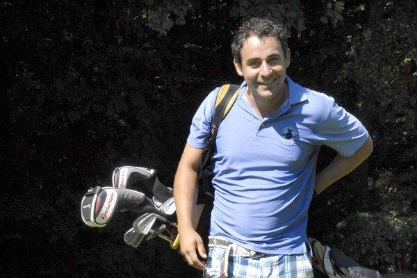 Filip Tůma je vášnivý golfista.