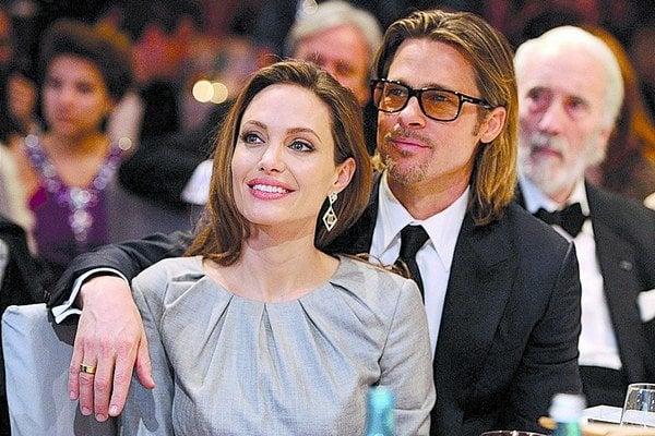 Brad Pitt s Angelinou Jolie.