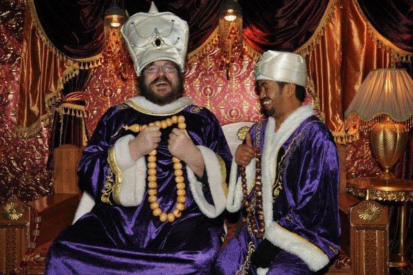 Sultán Boris Filan v Istanbule. S touto pozíciou to myslel vážne, dokonca si stihol najať aj sluhu.