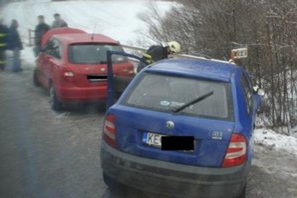 Ranná nehoda pri Krompachoch.