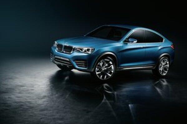 Koncepčné BMW X4. Sériový model, odvodený od tohto koncepčného vozidla, príde na trh už na budúci rok.
