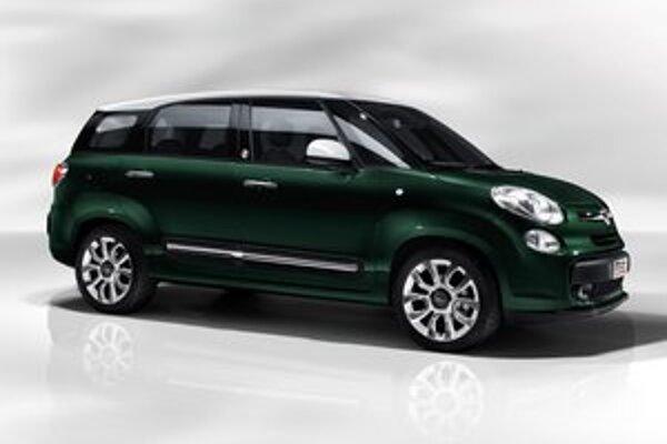 Malý van Fiat 500L Living. Nový van, vyrábaný v Srbsku, sa bude dodávať s piatimi alebo siedmimi sedadlami