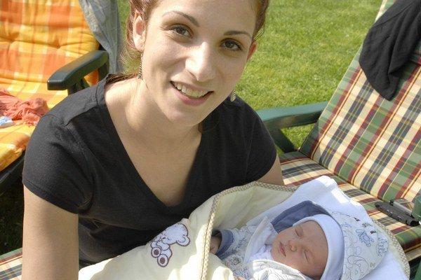 S neterou Stellkou. Odvčera však už má Zuzka aj svojho synčeka.