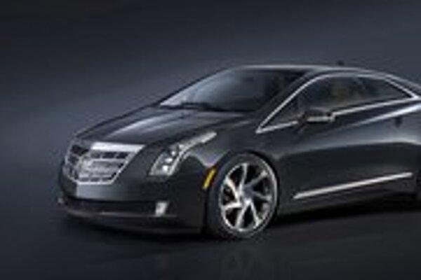 Luxusné kupé Cadillac ELR. Kupé ELR je tretím modelom koncernu General Motors, ktorý má elektrický pohon.
