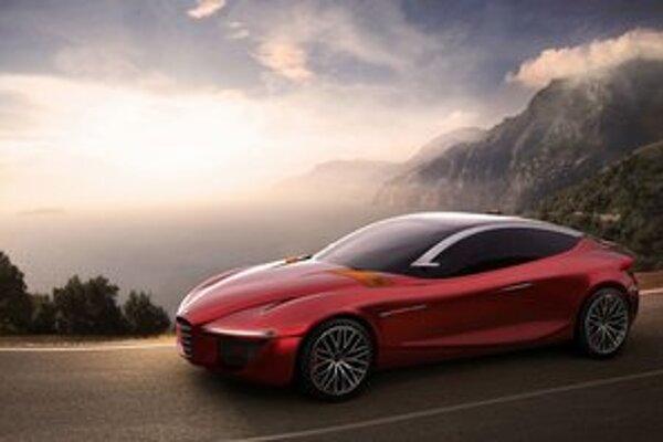 Štúdia Alfa Romeo Gloria. Gloria, ktorú predstavia v Ženeve, je dielom študentov magisterského štúdia dizajnu dopravy v inštitúte IED.