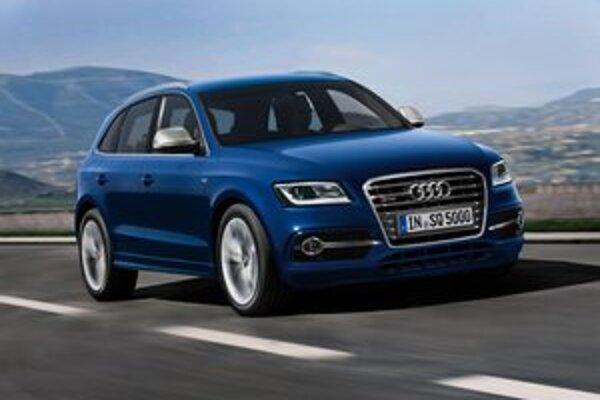 """Športovo-úžitkové Audi SQ5 TDI. Ide o prvý """"eskový"""" model firmy Audi, poháňaný turbodieselovým motorom."""