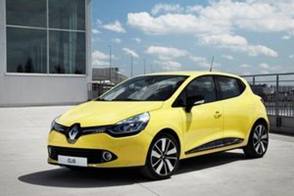 Nový Renault Clio. Na novom modeli sú dôsledne uplatnené nové dizajnérske prvky firmy Renault.