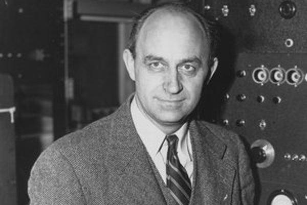 Enrico Fermi. V roku 1938 bol 37-ročný Fermi ocenený Nobelovou cenou za fyziku.