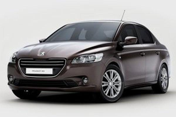 Nový Peugeot 301. Svetovú premiéru bude mať na jesennom autosalóne v Paríži.
