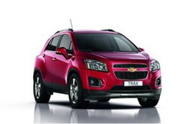 Športovo-úžitkový Chevrolet Trax. Trax bude mať svetovú premiéru na autosalóne v Paríži.