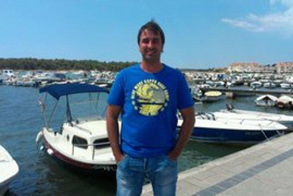 Miro Džunko. Tohtoročnú letnú dovolenku si užil v Chorvátsku.