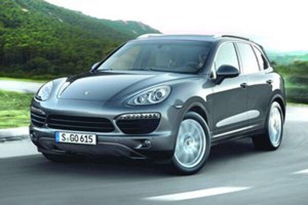 Nové Porsche Cayenne S Diesel. Ide o najvýkonnejší model Porsche so vznetovým motorom.
