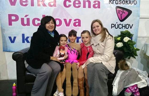 Sprava L. Starovičová, Z. Semančíková a T. Hádeková z KKM Nitra.