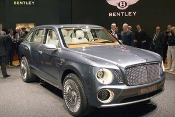 Štúdia Bentley EXP 9 F. Dizajn športovo-úžitkového vozidla EXP 9 F vyvolával v Ženeve kontroverzné reakcie.