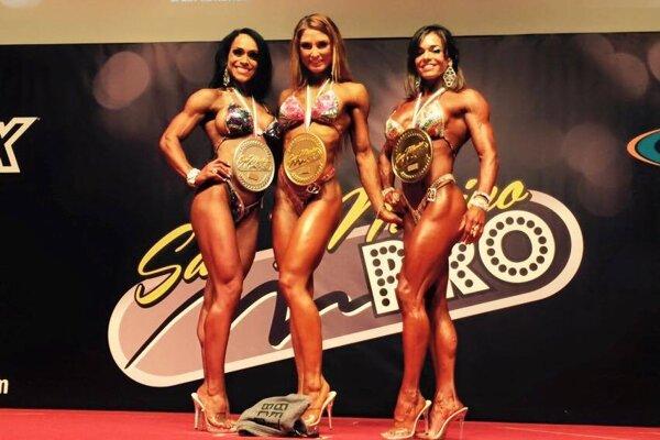 Adela Ondrejovičová (v strede) uspela aj v San Marine.