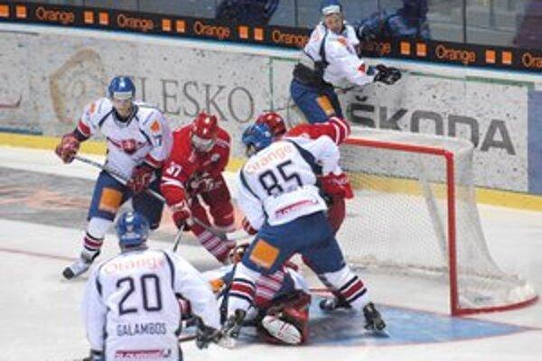 Peter Mikuš. V reprezentačnom tíme sa dočkal prvého gólu.