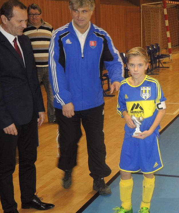 Ondrej Cíferský bol vyhlásený za najlepšieho hráča turnaja.