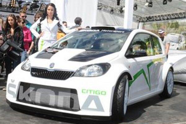 Štúdia Škoda Citigo Rally. Túto štúdiu, predstavenú na tuningovom zraze v Rakúsku, by mnohí fanúšikovia značky Škoda radi videli na cestách.