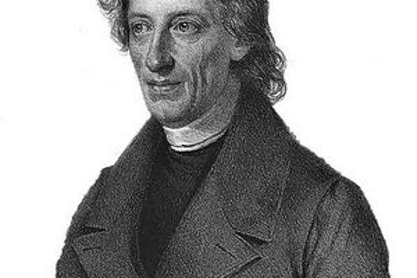 Bernard Bolzano. Bol vynikajúci pražský mysliteľ, matematik, logik a teológ.