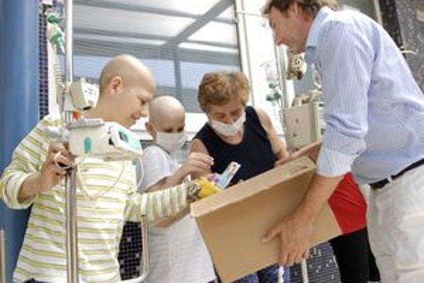 Ady Hajdu pomáha chorým deťom