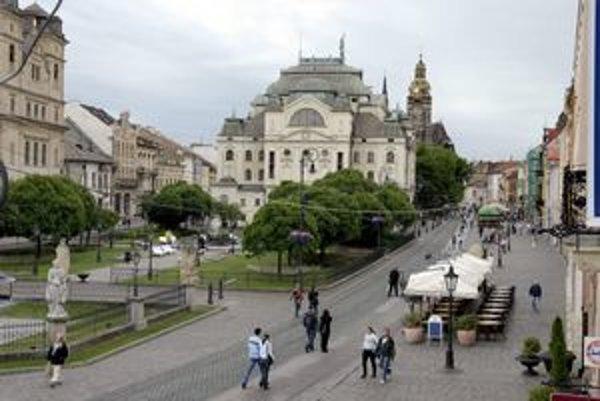 Východoslovenská metropola. Väčšina najlukratívnejších budov a pozemkov je už predaná.