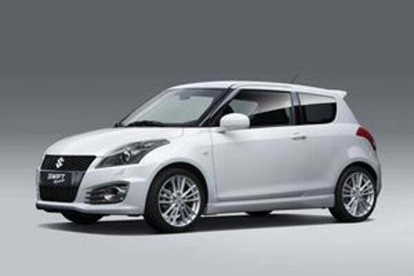 Suzuki Swift Sport. Maximálny výkon 1,6-litrového motora je 100 kW.