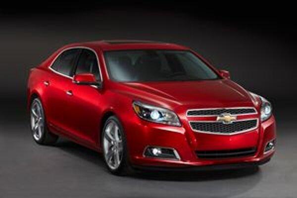 Nový Chevrolet Malibu. Malibu má byť vlajkovou loďou európskej ponuky americkej firmy Chevrolet.