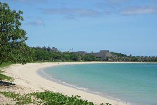 Čarokrásna Natadola Beach. Nájdete ju na hlavnom ostrove Viti Levu.