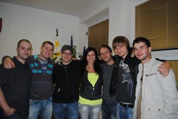 Silvayovci Gabi, Paľo, Miloš, Juraj, Slávka, Tomáš a Janko.