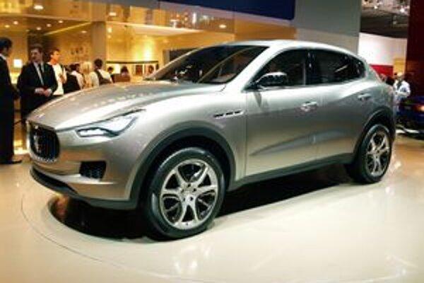 Športovo-úžitkový Maserati Kubang. Sériová verzia, odvodená od štúdie Kubang, by sa mala na trh dostať v roku 2013.