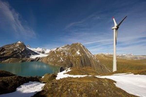 Najvyššie položená v Európe. Veternú turbínu postavili vo výške 2 465 metrov.