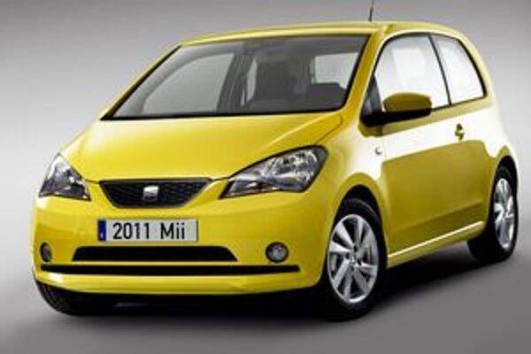 Miniautomobil Seat Mii. Model Mii je sesterským modelom vozidiel Škoda Citigo a Volkswagen up!
