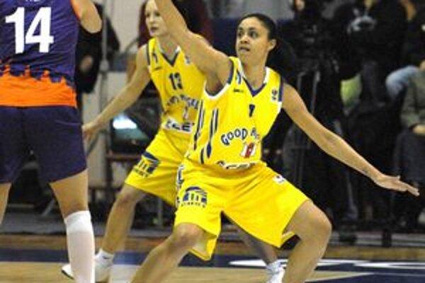 Candice Dupreeová. Do Košíc príde americká basketbalistka už v službách Spartaka Moskovská oblasť.
