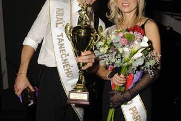 Nový kráľovský pár. Janka a Matej si víťazstvo naozaj zaslúžili.