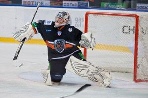 Ján Laco. Brankár HC Lev Poprad.