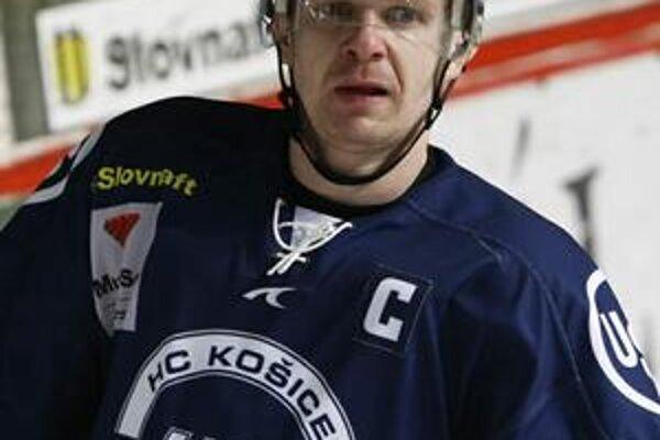 Juraj Faith. V čase, keď bol kapitán HC Košice.