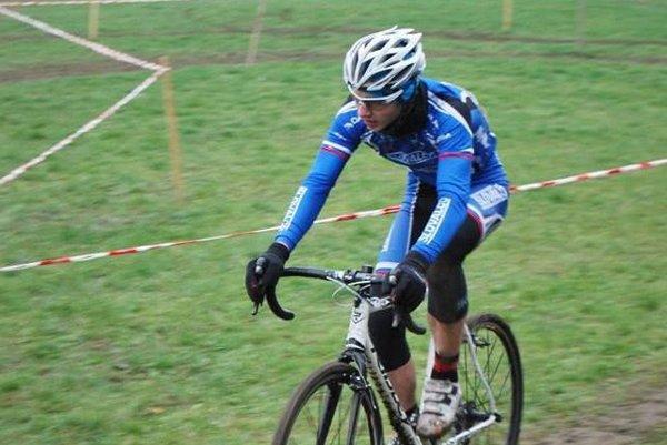 Na snímke žiarsky cyklista Adam Foltán.