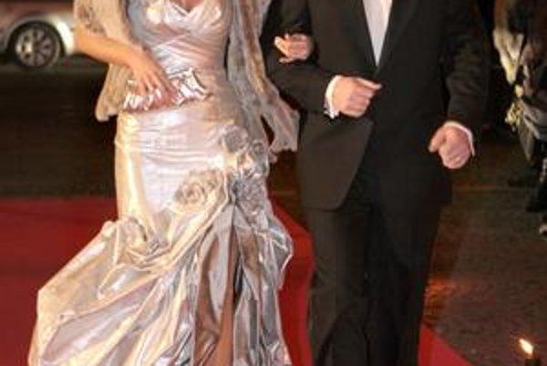 Jarmila Hargašová s manželom.