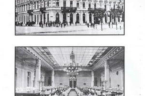 Schalkház. Usporadúvali sa tam recepcie, plesy a bankety. Zúčastňovali sa ich aj starostovia.