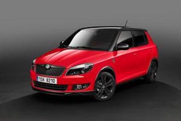 Škoda Fabia Monte Carlo. Verzia Monte Carlo má pripomínať 110. výročie automobilového športu.