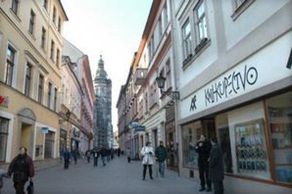 Mlynská ulica v Košiciach. Je spomienkou na mlyn, poháňaný vodnou energiou Hornádu.
