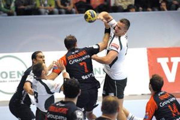 Triumf Montpellieru. Prešovčania sa snažili, ale kvalitatívny rozdiel bol značný.