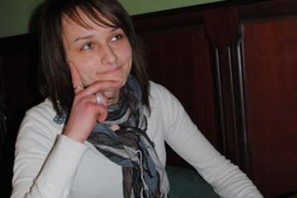 Katarína Kacvinská. Má netradičnú záľubu.