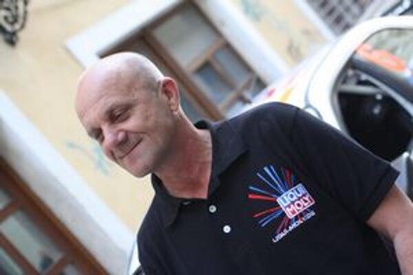Igor Drotár. Po prvom podujatí pretekov automobilov do vrchu neskrýval spokojnosť.