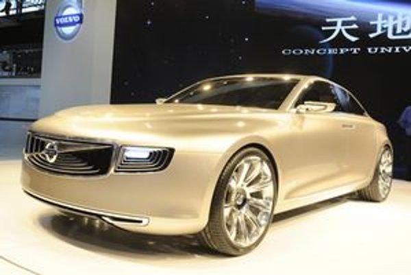 Štúdia Volvo Concept Universe. Štúdia mala svetovú premiéru na medzinárodnom autosalóne v Šanghaji.