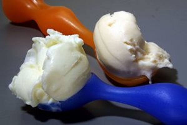 Zmrzlina bez mlieka. Nová zmrzlina obsahuje proteíny zo semien vlčieho bôbu.
