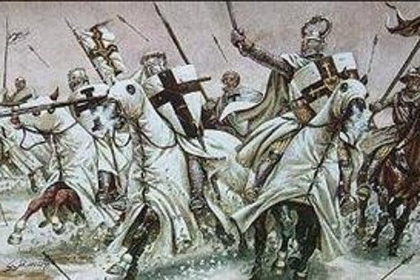 Rytieri Dračieho rádu. Založil ho Žigmund Luxemburský proti nepriateľom a pohanským vojskám.
