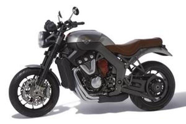 Nový motocykel Horex. Pohonnú jednotku motocykla tvorí 1,2-litrový vidlicový šesťvalec VR6.