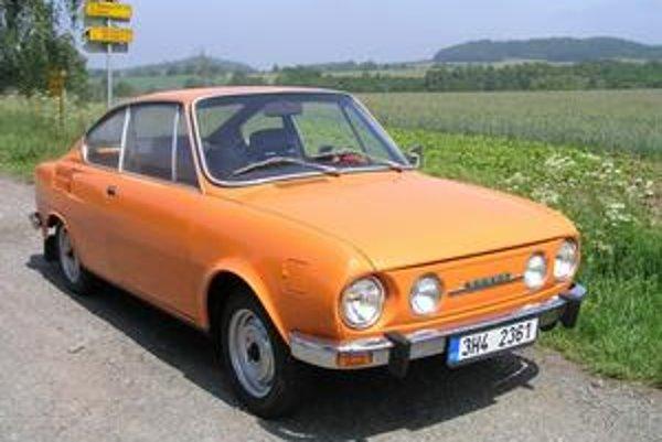Škoda 110R Coupé. Toto kupé sa začalo vyrábať pred 40 rokmi a jeho výroba skončila pred 30 rokmi.